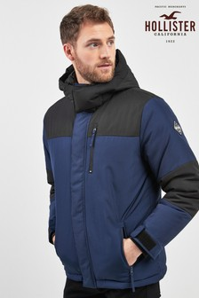 Hollister Navy Expedition Padded Jacket