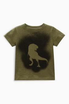 Sprayed Dino Short Sleeve T-Shirt (3mths-6yrs)