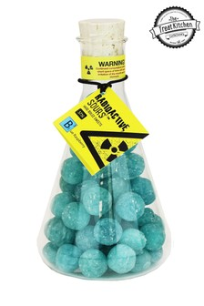 Radioactive Sour Sweets Flask Blue Raspberry Flavour