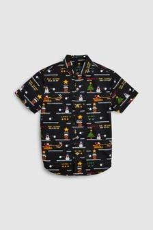 Christmas All-Over-Print Shirt (3-16yrs)