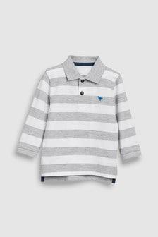 Langärmeliges Poloshirt (3Monate bis 7Jahre)
