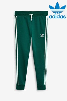 adidas Originals Green 3 Stripe Joggers