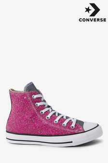 Converse Chuck Taylor All Star Glitter High Trainers