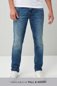 Soft Twill Jeans With Stretch