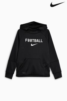 Nike Football Black Overhead Hoody