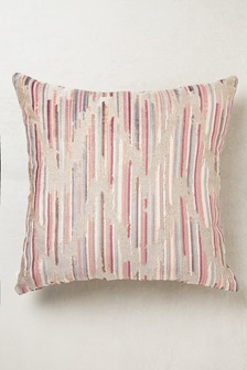 Velvet Chevron Cushion