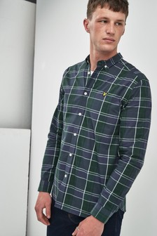 Lyle & Scott Poplin Fine Check Shirt
