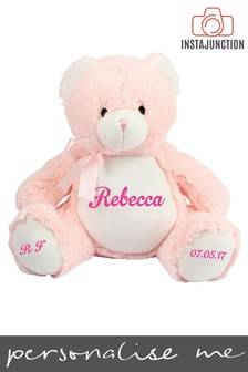 Personalised Cuddly Bear by Instajunction
