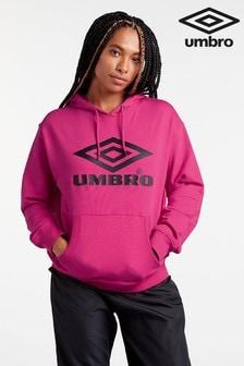 Umbro Kapuzenpullover mit Logo, rosa