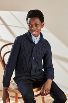 Cable Cardigan (3-16yrs)