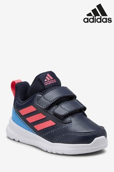 adidas Navy/Pink AltaRun Infant Trainers