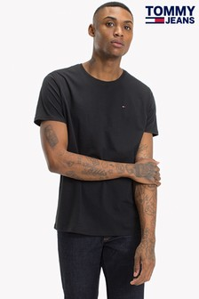 Tommy Jeans Original Black Jersey T-Shirt