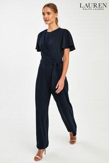 Lauren Ralph Lauren® Navy Delytha Jumpsuit
