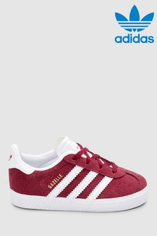 adidas Originals Burgundy Infant