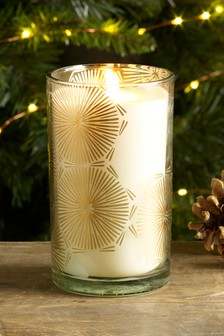 Orange & Star Anise Pillar Candle