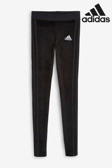 adidas ID Black Winterized Velvet Leggings