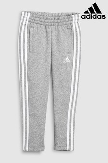 adidas Grey 3 Stripe Pant