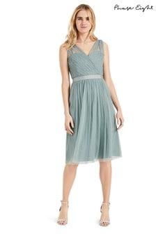 Phase Eight Green Romy Tulle Bridesmaid Dress