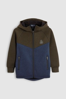 Sporty Zip Through Hoody (3-16yrs)