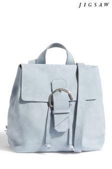 Jigsaw Blue Bree Buckle Backpack