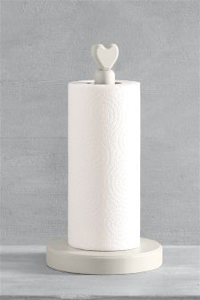 Heart Kitchen Roll Holder