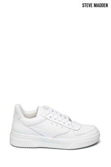 Steve Madden White Darma Sneakers