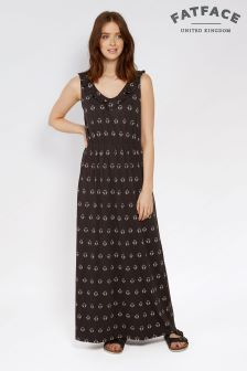 FatFace Phantom Debbie Gem Geo Maxi Dress