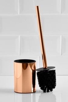 Rose Gold Effect Toilet Brush