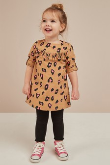 All Over Print Fringe Dress (3mths-6yrs)