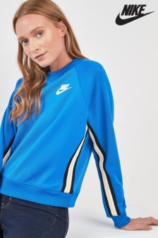 Nike Blue Poly Knit Crew