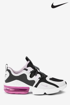 Nike Grey/Pink Infinity Youth Trainers