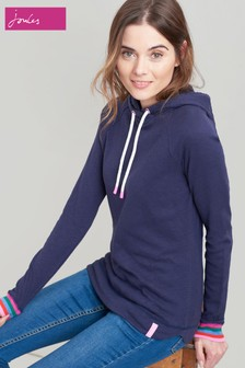 Joules Blue Marlston Semi Fitted Sweatshirt