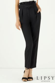 Lipsy High Waisted Paperbag Tailored Trouser