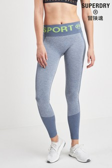 Superdry Sport Blue Seamless Legging