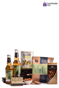 Beer And Bar Snacks Gift Box by Lanchester Gifts