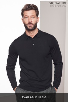 0a84b506 Knitted Polo Shirts for Men | Knitted Polos | Next Official Site