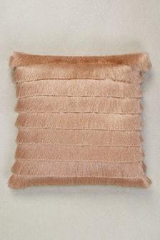 Shimmer Fringe Cushion