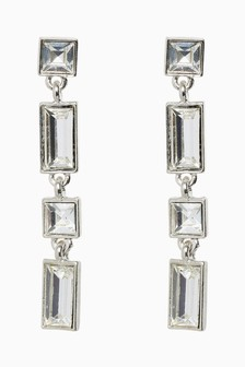 Jewel Stone Drop Earrings