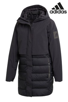 adidas Black My Shelter Padded Coat