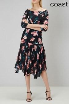 Coast Black Lauren Windsor Dress
