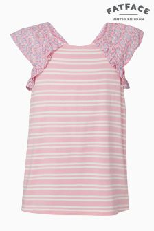 FatFace Candy Isabel Stripe Top