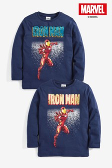 Iron Man Shirt (3-14yrs)