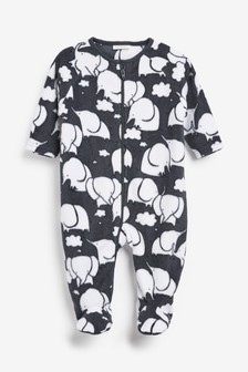 Elephant Fleece Sleepsuit (0mths-3yrs)
