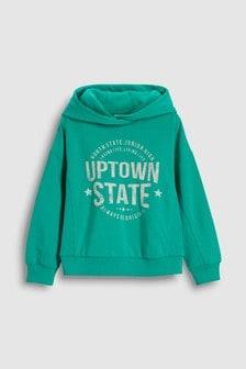 3ea03b4181b0 Older Girls sweatshirts and hoodies Green