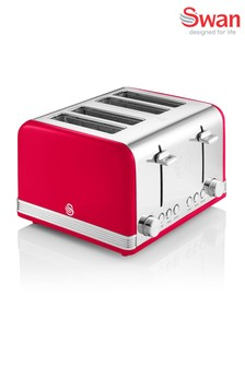 Swan Retro 4 Slot Toaster