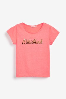 Billie Blush Pink Logo T-Shirt