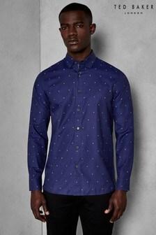 Ted Baker Navy Peckham Shirt