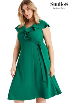 Studio 8 Green Rachel Wrap Dress