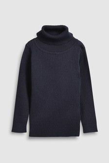Roll Neck Jumper (3mths-6yrs)