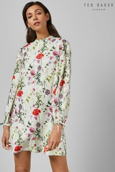 Ted Baker White Floral Tunic